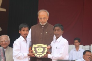 Prize distribution and valedictory ceremony